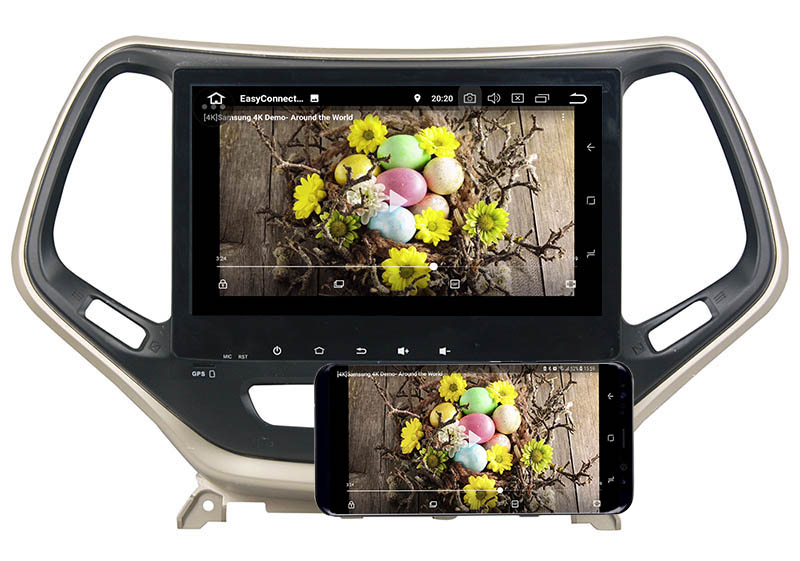 Jeep Grand Cherokee android mirror link
