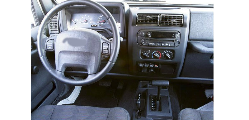 Jeep Dodge Chrysler 1999-2009 Old years factory radio