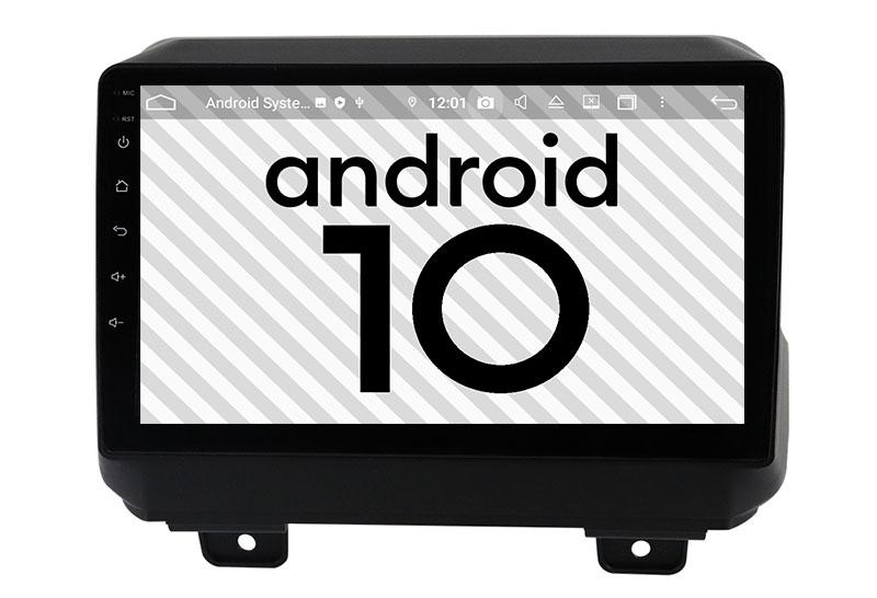 Jeep Wrangler 2018-2021 android 10.0 autoradio