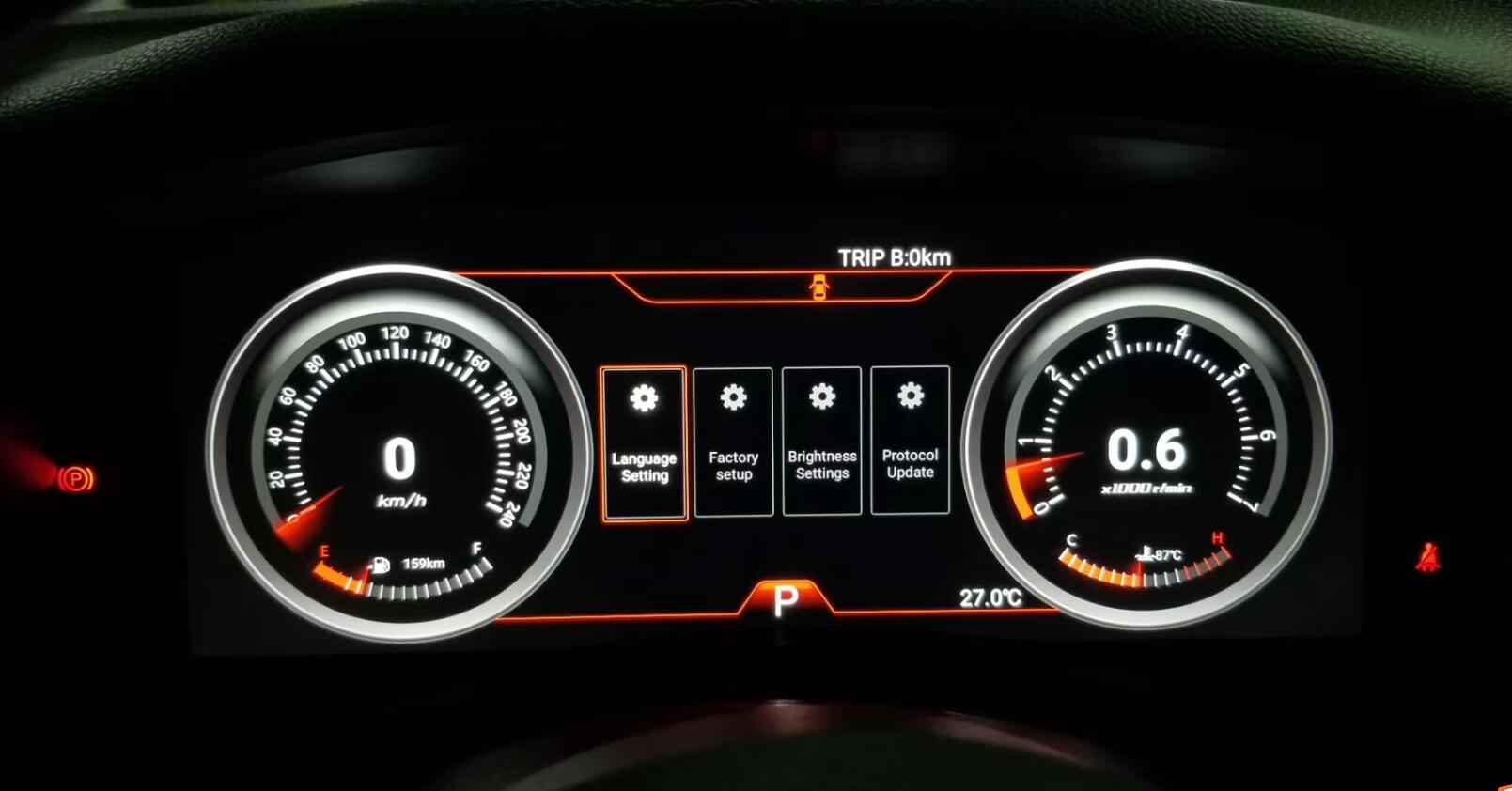 digital dash display Jeep Wrangler 2010-2017