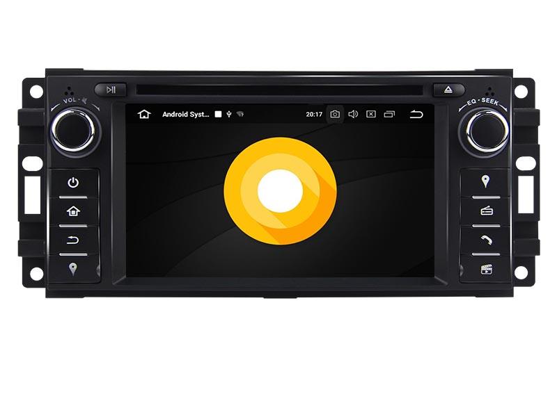 jeep wrangler touch screen radio