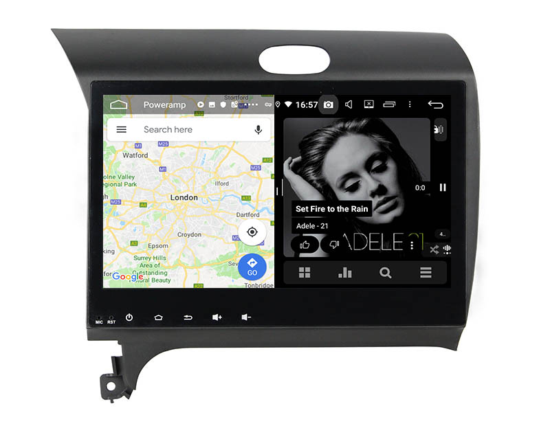 slpit screen on android Kia Forte Cerato K3 2013-2017