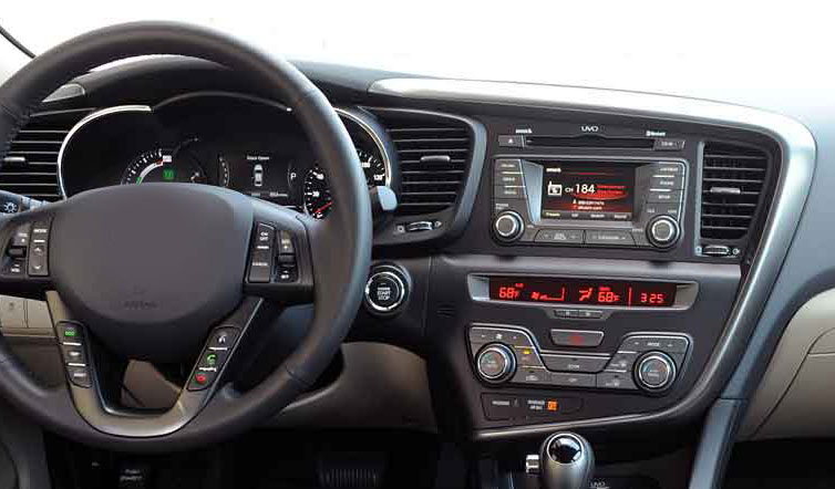 Kia Optima K5 2011 2012 2013 factory radio