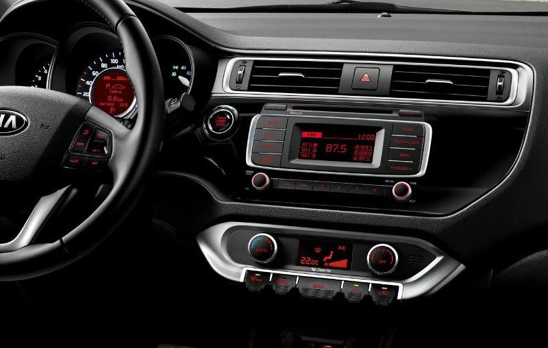 Kia Rio 2015-2018 factory radio