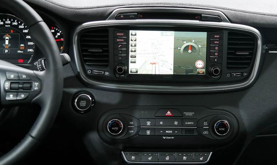 2015-2019 Kia Sorento factory radio