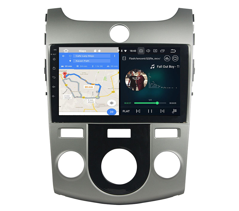 slpit screen on android Kia Forte