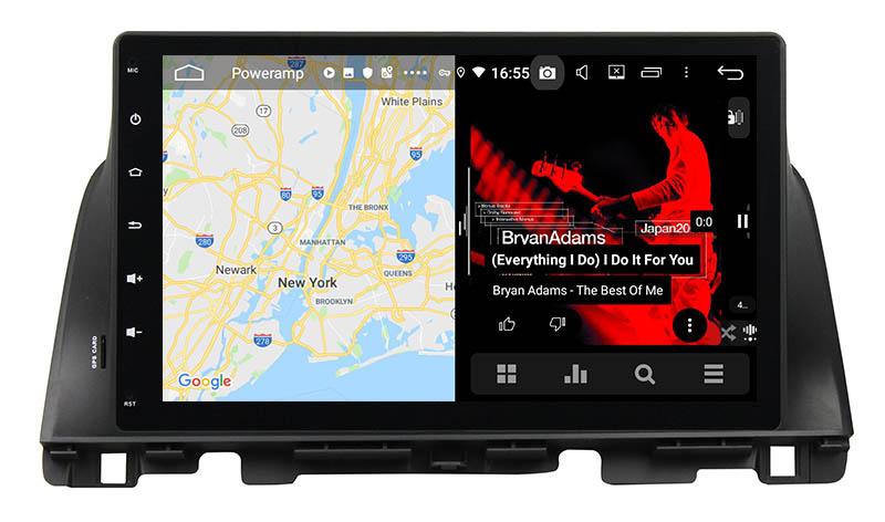slpit screen on android Kia K5 Optima 2015 2016 2017 2018 2019