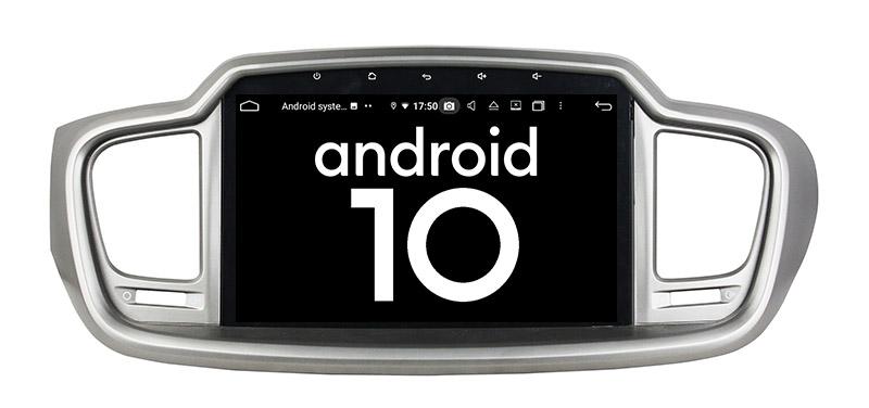 Kia Sorento 3 2014-2017 android 10.0 autoradio