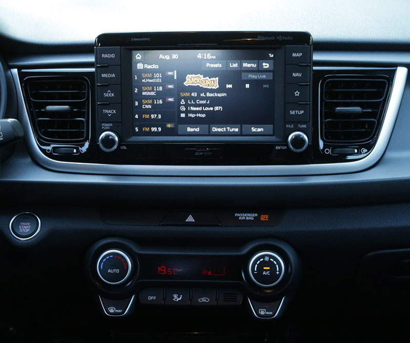 2019 Kia Rio: Belsee Aftermarket Android 8.0 Oreo Stereo Head Unit Auto