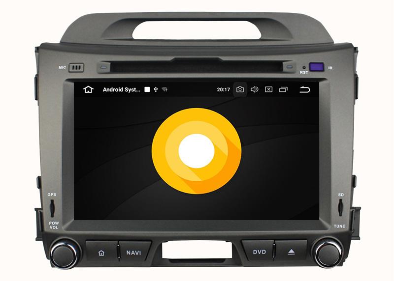 Kia Sportage 2010-2015 android 8.0 autoradio