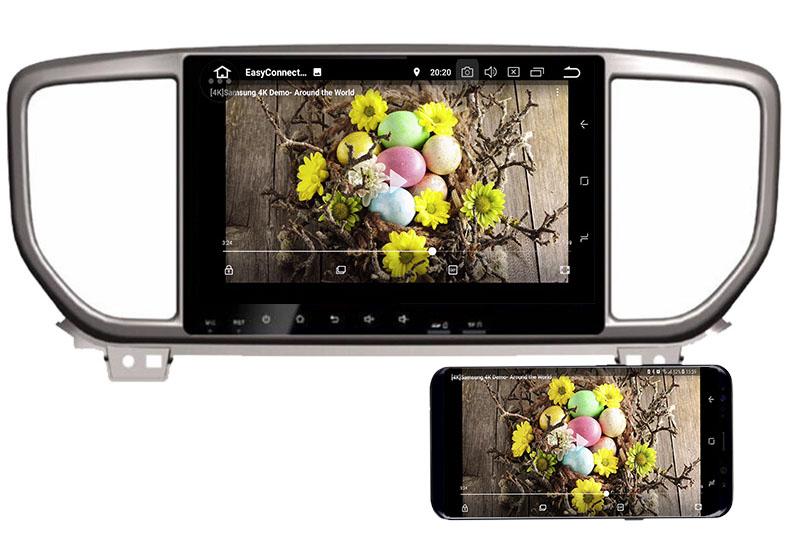2019 Kia Sportagedvd player android mirror link