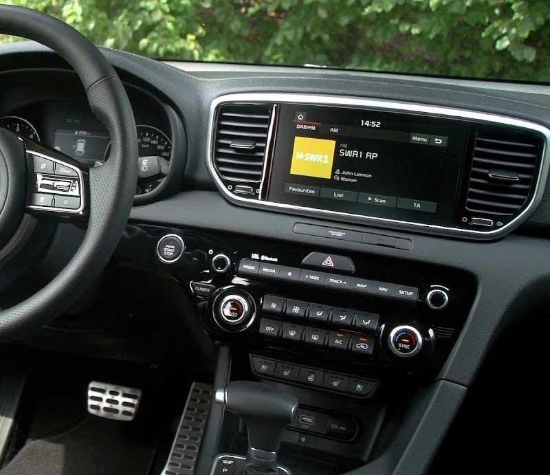 2019 Kia Sportagefactory radio