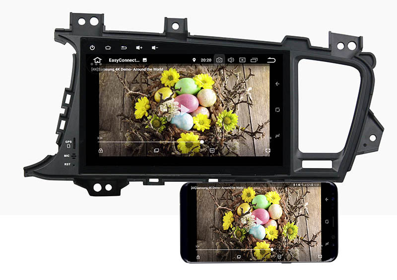 Kia Optima K5 2011 2012 2013 android mirror link
