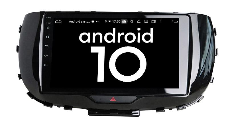 Kia Soul 2019 2020 android 10.0 autoradio