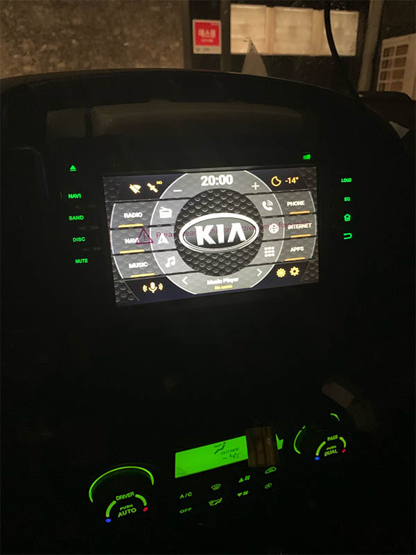 KIA Universal OLD years radio