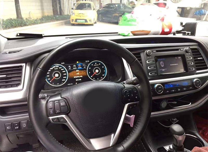Toyota Highlander 2015-2019 LCD Digital Dashboard