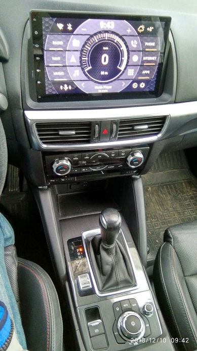 Mazda CX-5 android 9.0 stereo