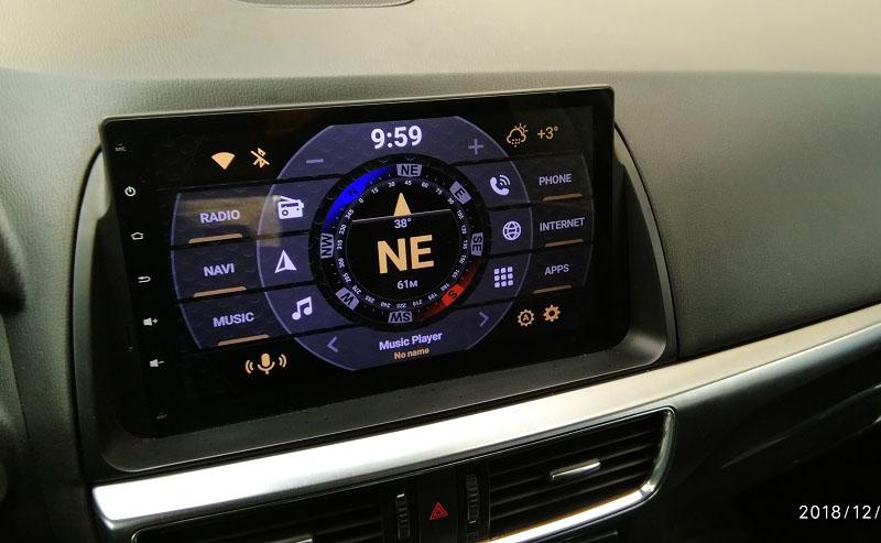 Mazda CX-5 android 9.0 radio