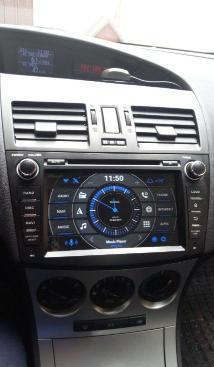 Mazda 3 2009-2013 factory radio