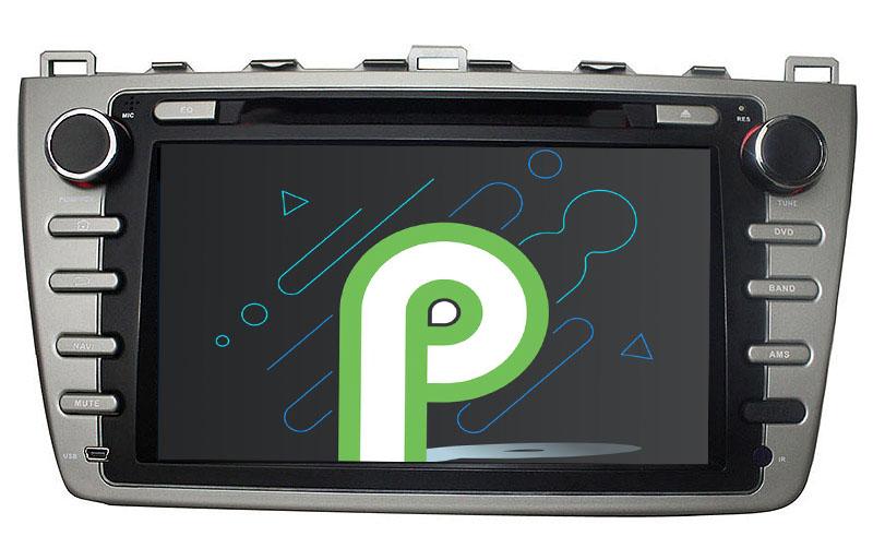 Mazda 6 Ruiyi Ultra 2008 2009 2010 2011 2012 android 9.0 autoradio