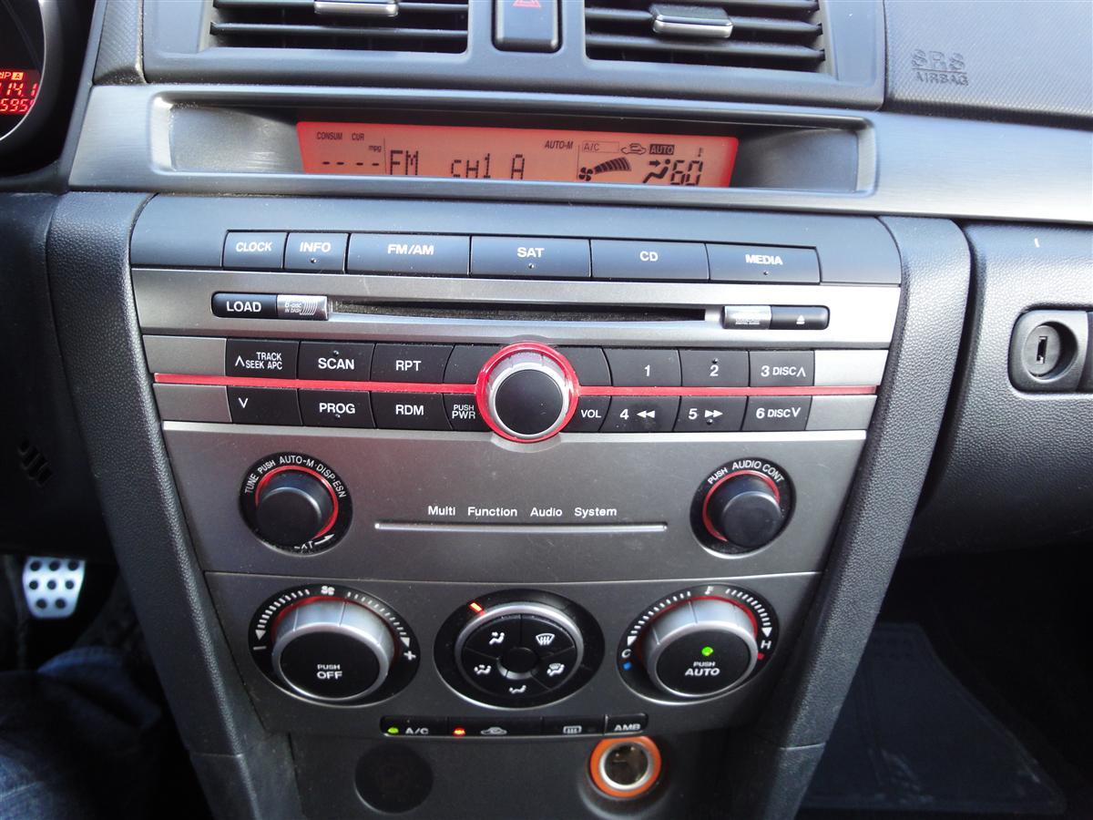 mazda 3 factory radio