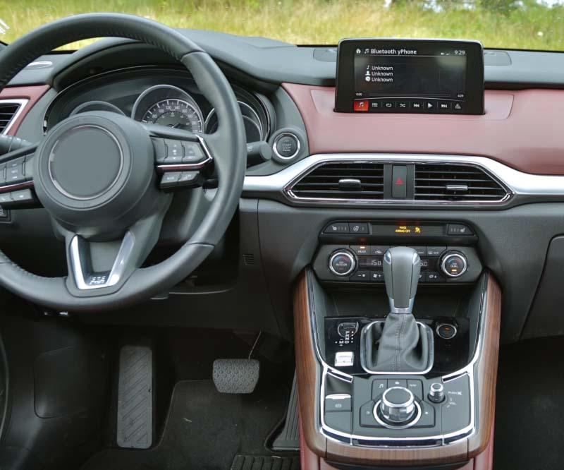 2016-2021 Mazda CX-9 factory radio