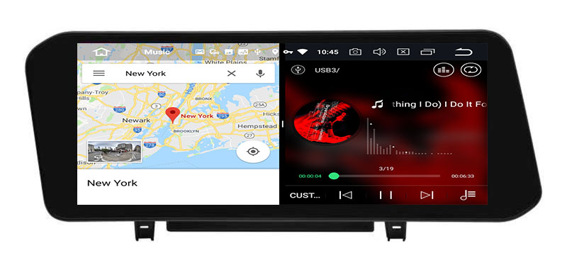 slpit screen on android Mazda 3 2019-2021