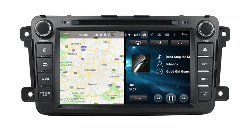 slpit screen on android Mazda CX-9 CX9 CX-9 2007-2016