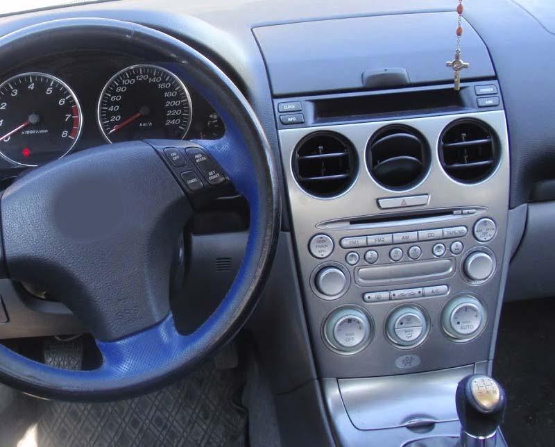 2002-2008 Mazda 6 factory radio