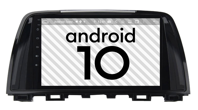 Mazda 6 2013 2014 2015 2016 2017 2018 android 10.0 autoradio