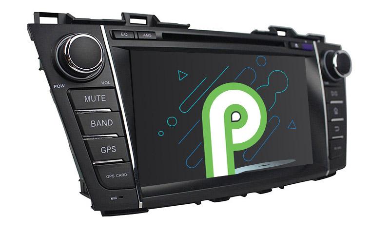 Mazda 5 Premacy 2009 2010 2011 2012 2013 android 9.0 autoradio