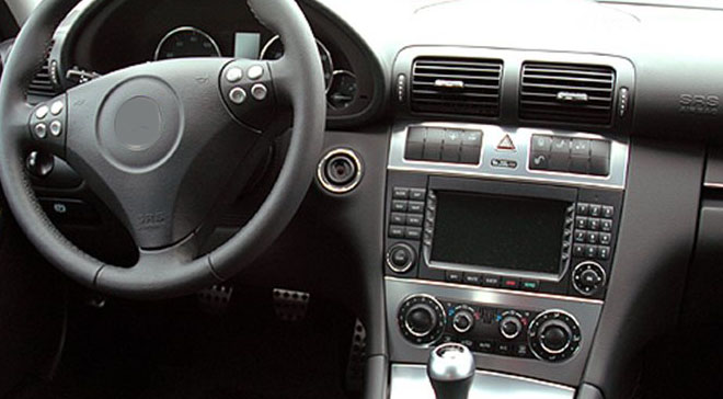 mercedes w203 factory radio