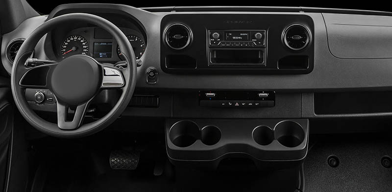 Mercedes-Benz Sprinter 2019 2020 2021 factory radio