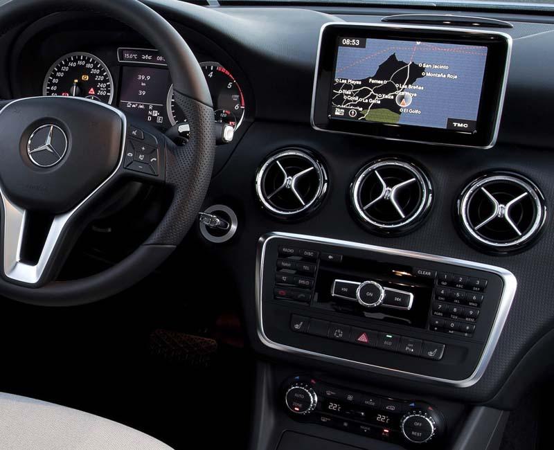 Mercedes-Benz A-Class W176 GLA-Class X156 CLA-Class w117 dashboard