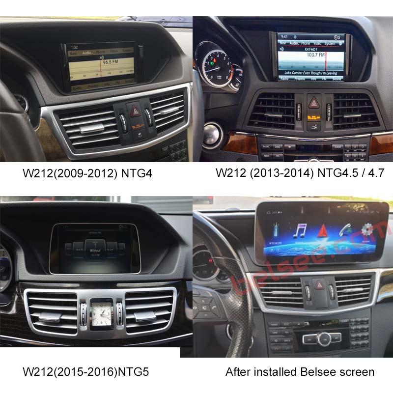 Mercedes-Benz E-Class W212 2009-2016  dashboard