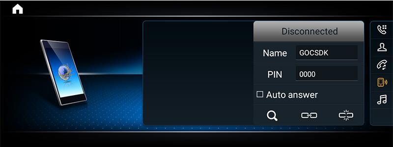 mercedes benz android screen auto UI