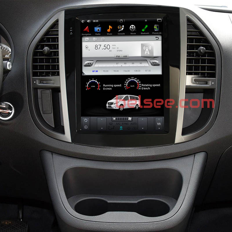 Mercedes-Benz Vito android screen radio