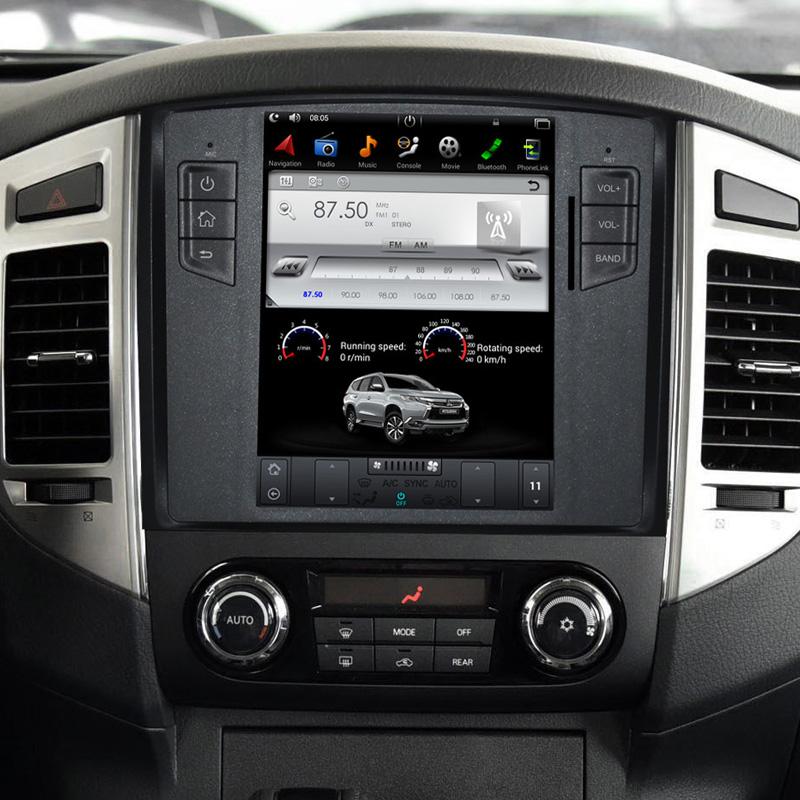 Mitsubishi Pajero tesla android screen radio