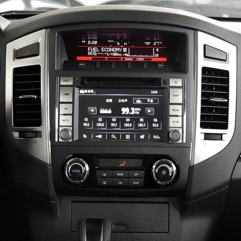 Mitsubishi Pajero factory radio