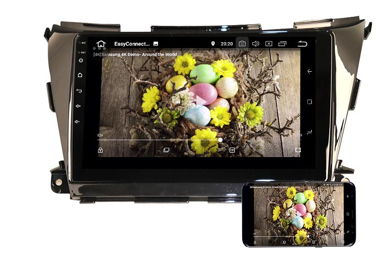 Nissan Murano 3 Z52 2014-2020 android mirror link
