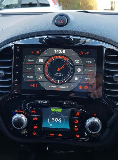 Nissan juke android radio