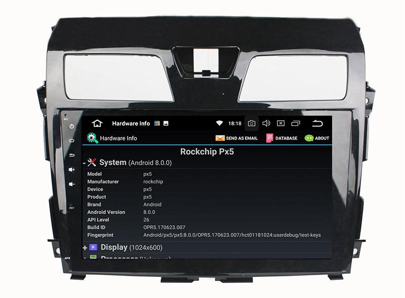 Nissan Teana Altima android radio