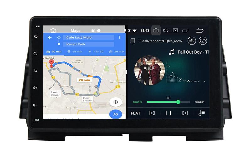 slpit screen on android Nissan Kicks
