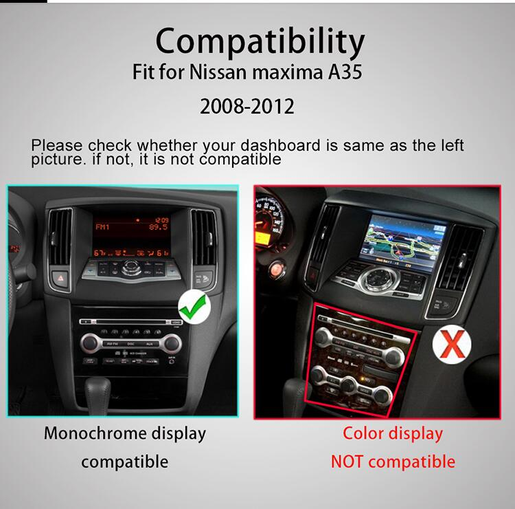 Nissan Teana J32 Maxima 2008-2013 dash