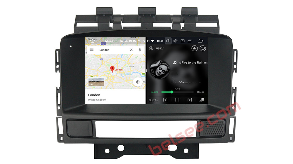 slpit screen on android Vauxhall Opel Astra J 2010 2011 2012 2013 CD300 CD400