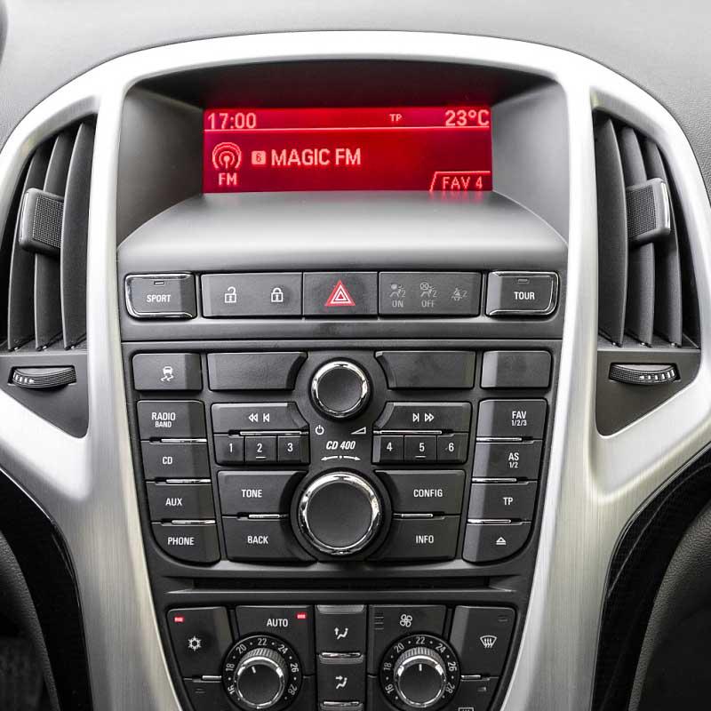 Vauxhall Opel Astra J 2010 2011 2012 2013 CD300 CD400 factory radio