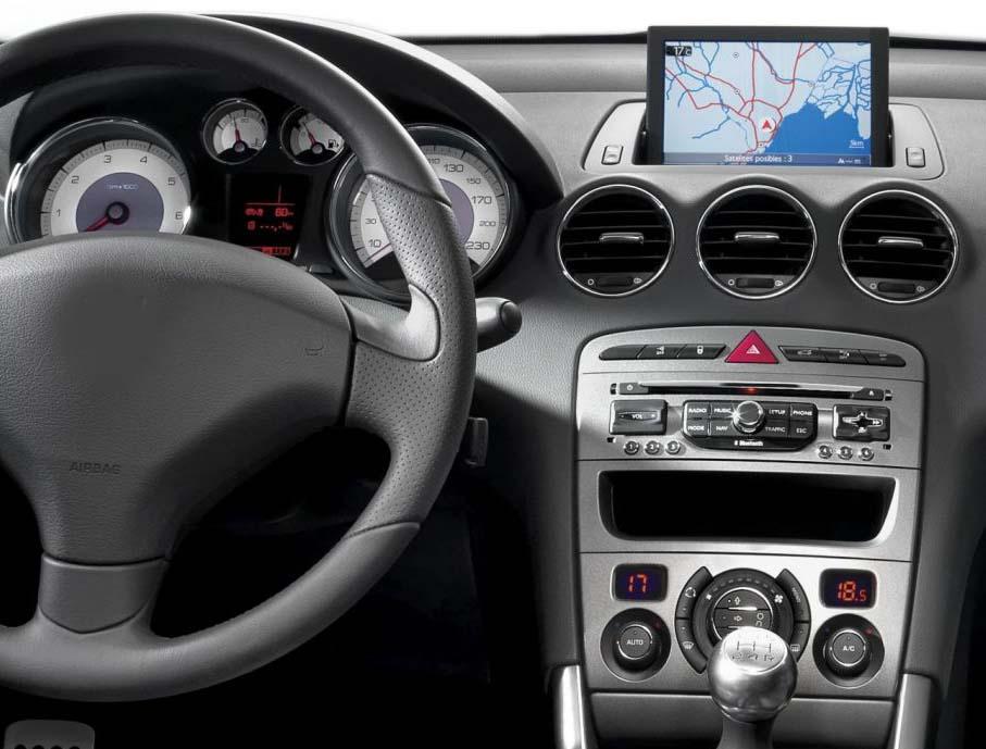 Peugeot 308 408 factory radio