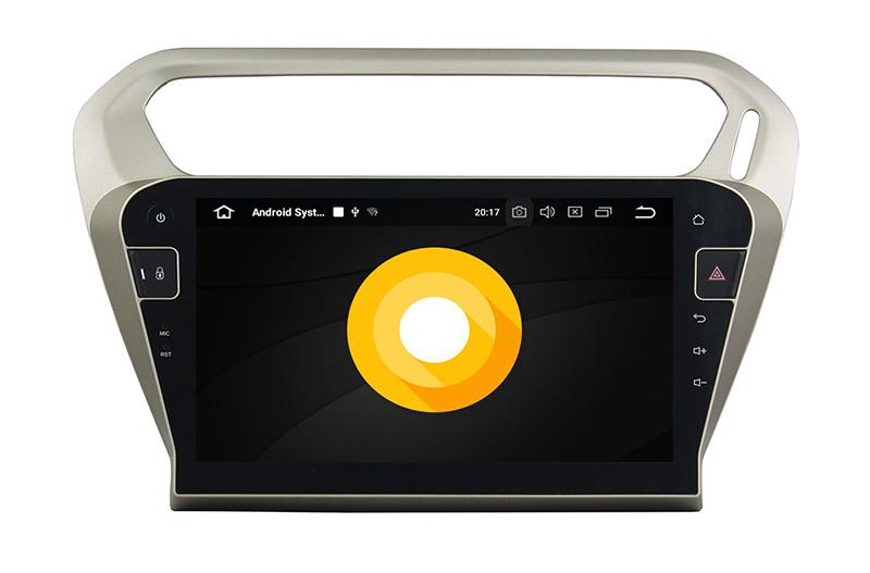 Peugeot 301 Citroen Elysee android 8.0 autoradio