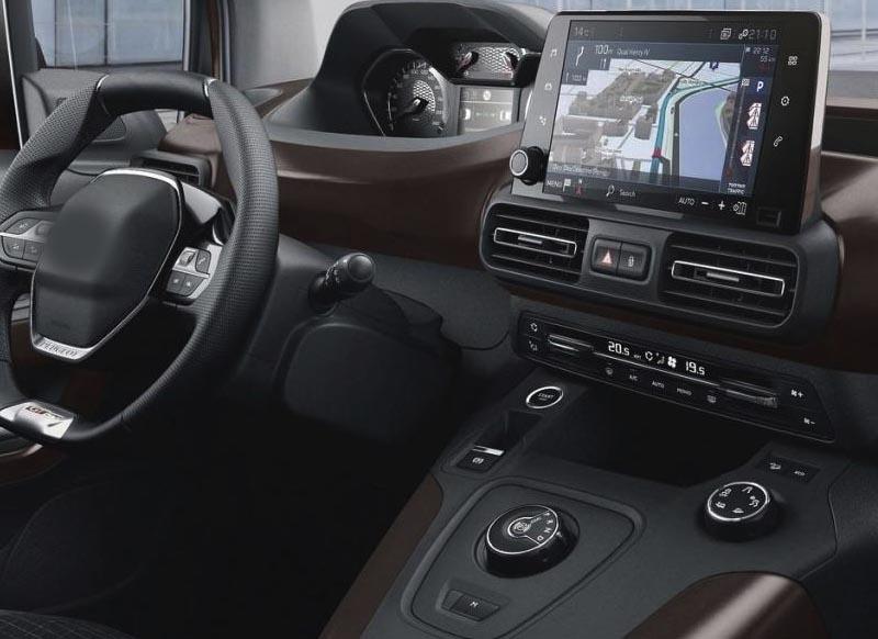 Citroën Berlingo Peugeot Partner 2018 2019 2020 factory radio