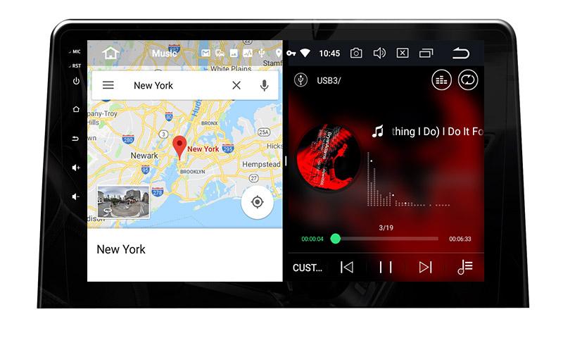slpit screen on android Citroën Berlingo Peugeot Partner 2018 2019 2020